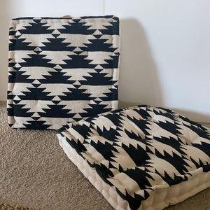 Cost Plus World Market Dhurrie Weave Floor Cushion